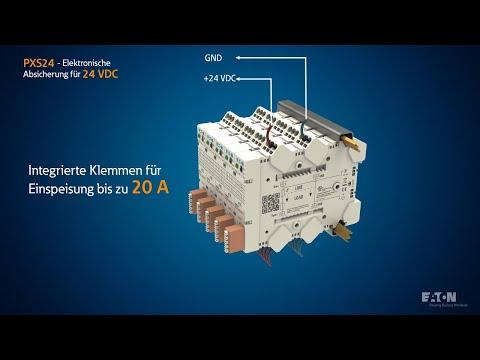 PXS24 - Elektronische Absicherung für 24 VDC   Produkt