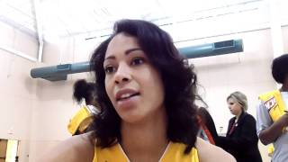 Jennifer Lacy - 2011 Tulsa Shock Media Day