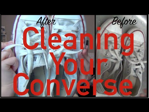 how to keep your converse clean