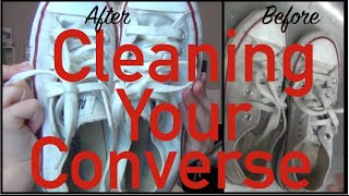 Dirty Converse? { How to Clean Your Converse}
