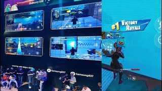 This Is Real Mobile Esports... (Samsung Fortnite Mobile LAN Review)