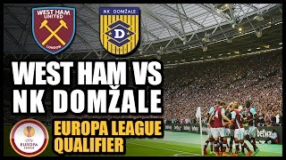 FIRST GAME AT NEW STADIUM! WEST HAM vs NK DOMŽALE  - Europa League Qualifier 2016/17