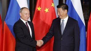 Совместное заявление для прессы Путина и Си Цзиньпина. Полное видео