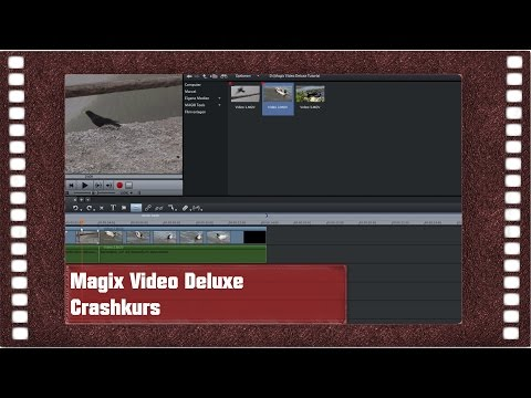 Magix Video Deluxe 2015 - Crashkurs in 6 Minuten (1080p)