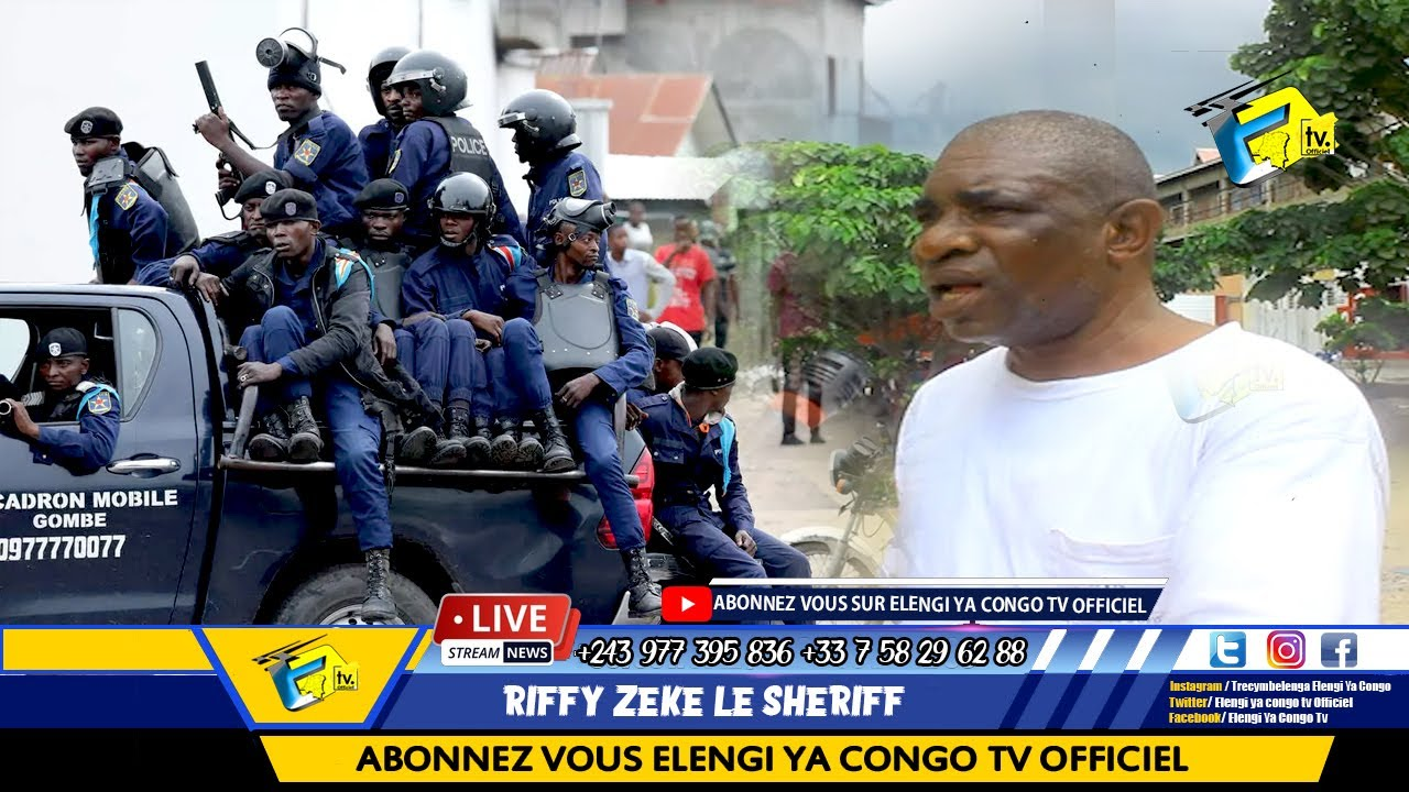 Colonel Mal A Laise à Torturé PAPA: Réaction De KINOIS Obligatoire De Porté Le Masqué à Kinshasa