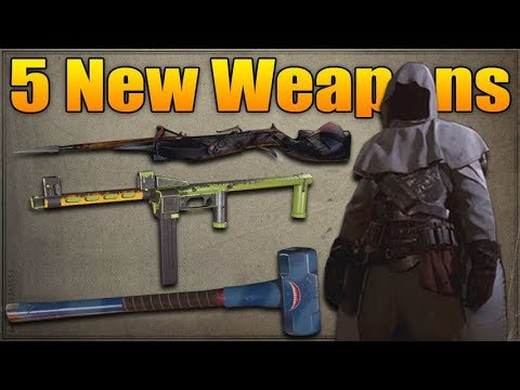 Bar Weapons Of Call Of Duty World War 2 Youtube
