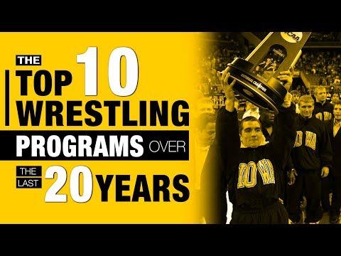 Best Wrestling Colleges & Conferences Since 1999