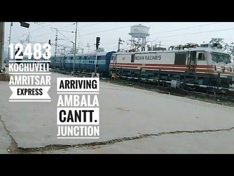 12483 Kochuveli - Amritsar WeeklySF Express || arriving Ambala cantt. Junction||