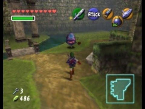 Legend of Zelda : Ocarina of Time - Forest Temple Full 100% Walkthrough