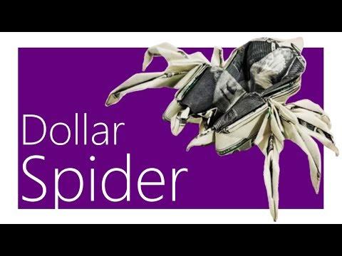 Dollar Spider Origami