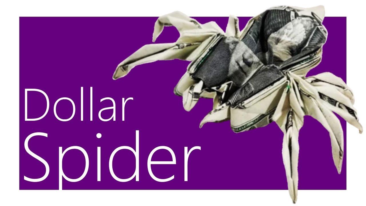 ORIGAMI DOLLAR BILL BUTTERFLY TUTORIAL (Won Park) 折り紙 蝶 $1 ... | 720x1280
