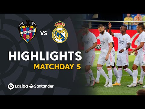 Levante Real Madrid Goals And Highlights