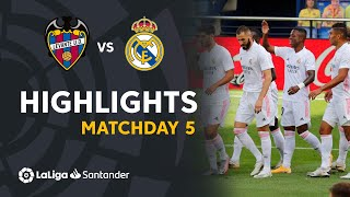 Highlights Levante UD vs Real Madrid (0-2)