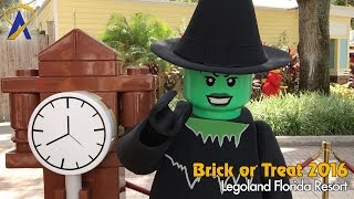 Brick or Treat Legoland Florida Halloween event 2016