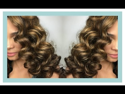 Natural Hair | {Semi-Wet Perm Rod Set}