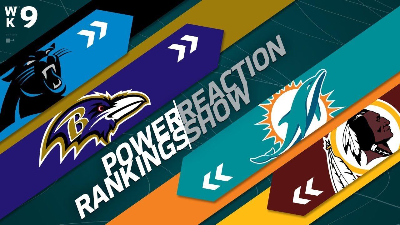 power-rankings-week-9-reaction-show-texans-offense-vs-jaguars-defense-nfl-network