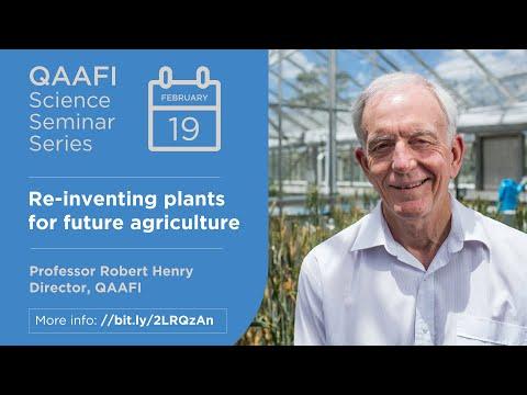 QAAFI Science Seminar | Prof Robert Henry