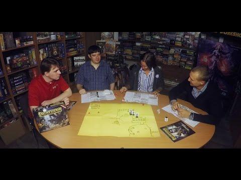Ролевая игра Pathfinder. Стартовый набор – пример игры