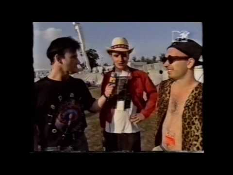"Nitzer Ebb live at Reading 1991 + interview on ""120 Minutes"""