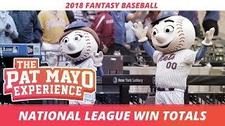 2018 MLB Predictions - National League Win Totals, Team Previews, Awards and Playoff Picks