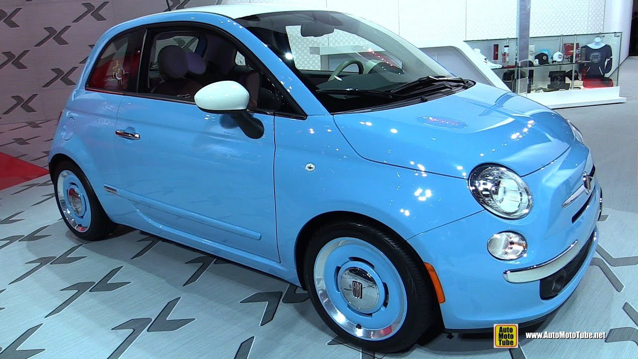 2015 Fiat 500 1957 Edition - Exterior and Interior Walkaround - 2015