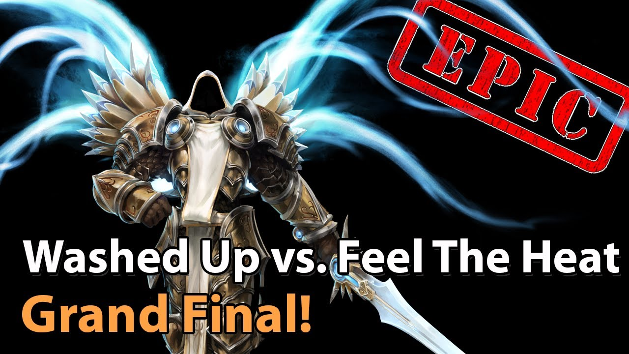► EPIC Washed Up vs. Feel The Heat - Grand Final of Method Mayhem - Heroes of the Storm Esports