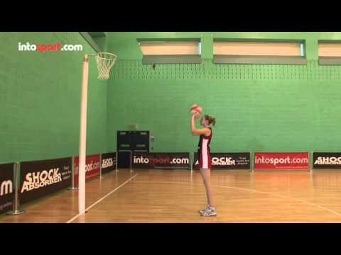 Netball Skills Basic Shot Technique  YouTube