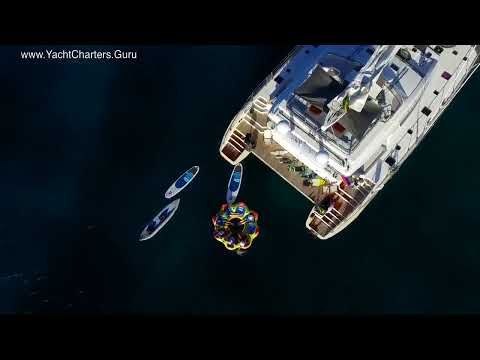Xenia 74 Luxury Crewed Yacht Charter Catamaran in the Virgin Islands