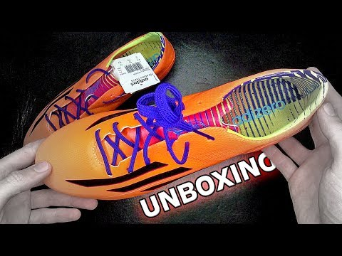 New 2014 adidas F50 adizero FG Unboxing by freekickerz