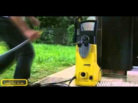 Прочистка трубы минимойкой керхер