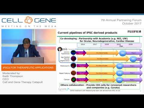 Panel: iPSCs for Therapeutic Applications