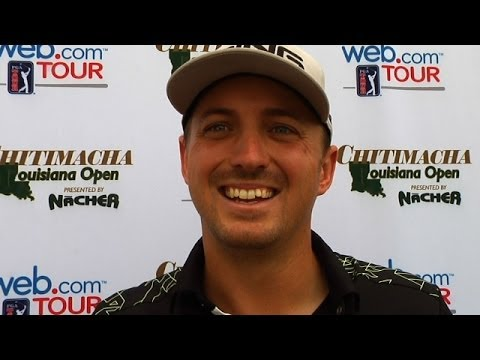 Steve Saunders interview after Round 2 of Chitimacha
