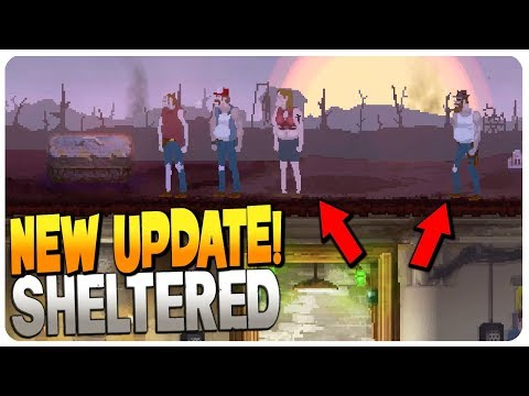 UPDATE 1.7 FINALLY! New Mode: SURROUNDED - Sheltered Gameplay (Mobile | PC)