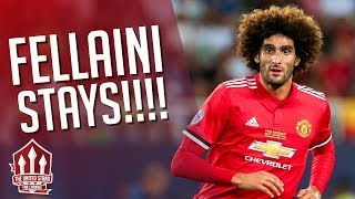 FELLAINI Stays At MANCHESTER UNITED! Latest Transfer News
