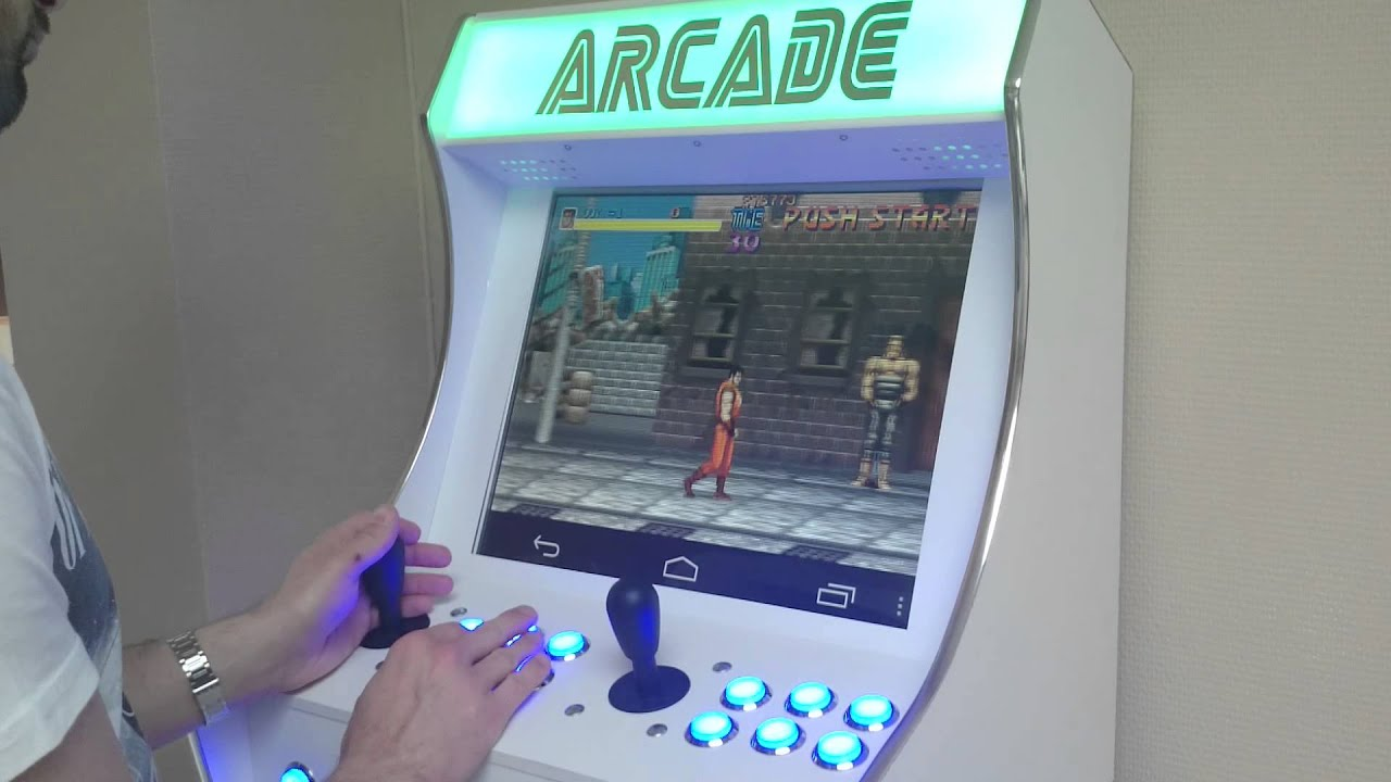 bartop arcade cabinet with an android console (pics in description ...