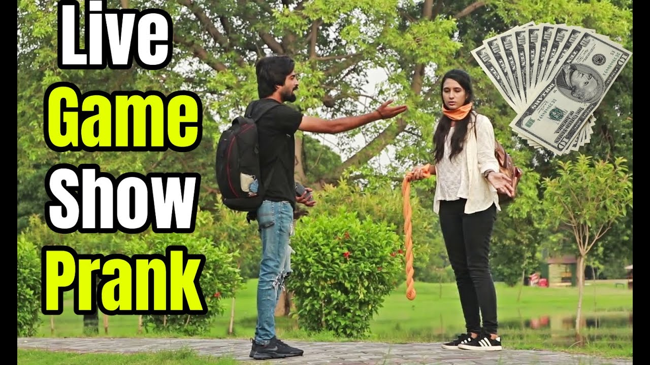 LIVE GAME SHOW PRANK (Epic Reactions)- LahoriFied