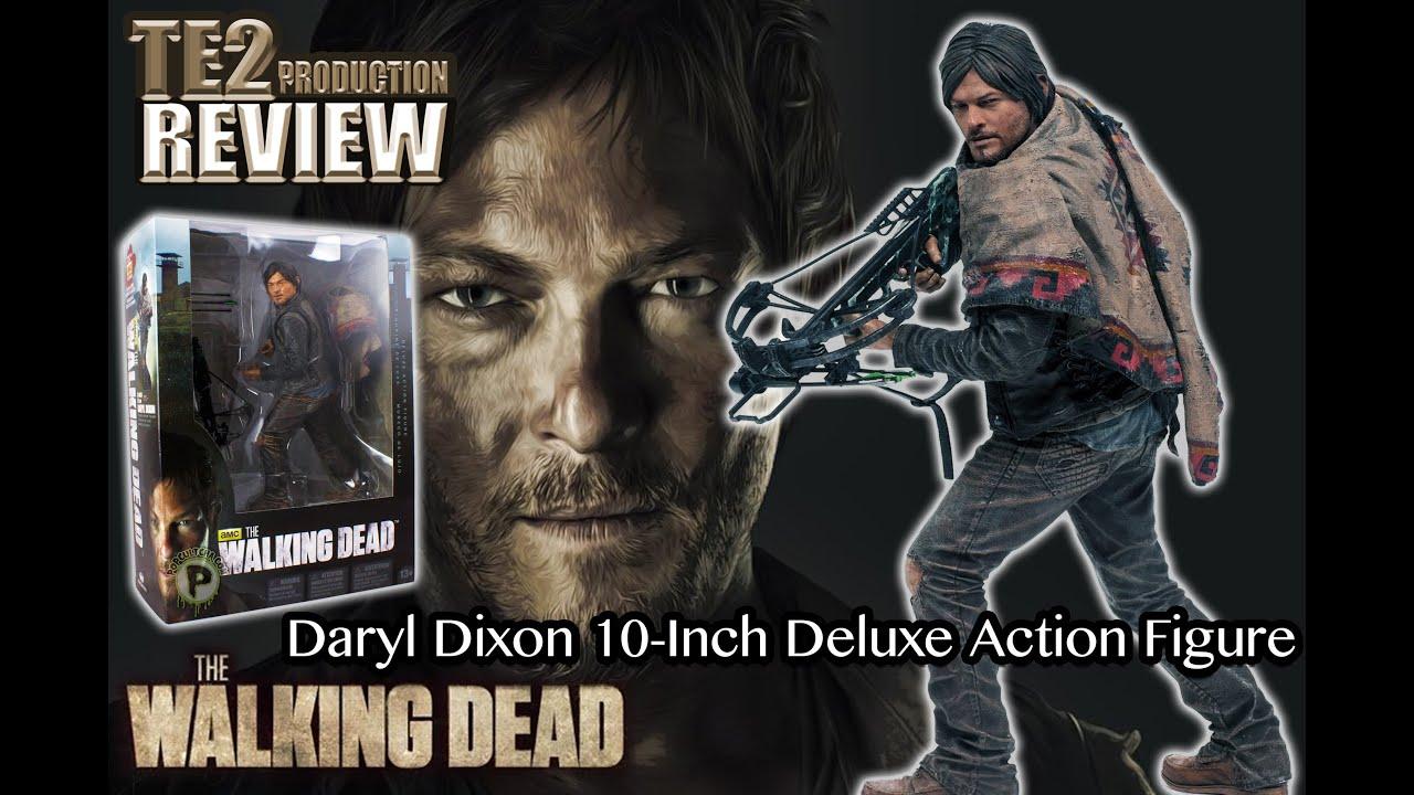 Mcfarlane walking dead series 6 daryl dixon action figure - Review The Walking Dead Daryl Dixon 10 Inch Deluxe Action Figure Mcfarlane Youtube