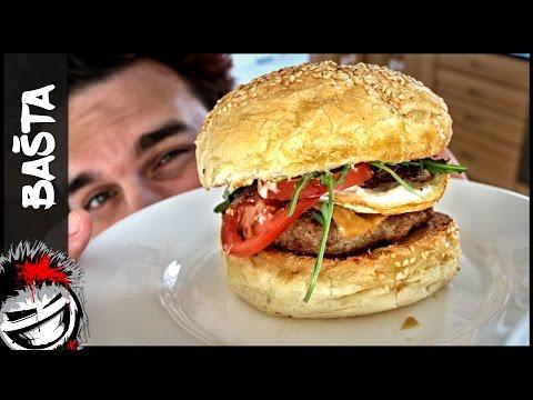 Hamburger ke snídani - Bašta #11