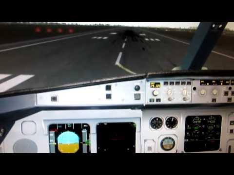 Cockpit A330-300 Take Off Bangkok