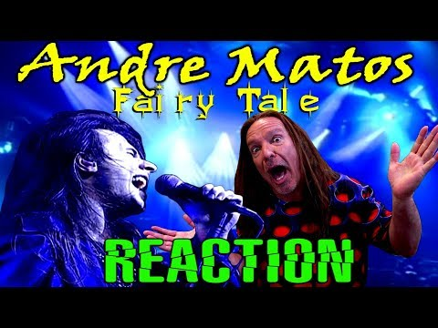 Vocal Coach Reacts To Andre Matos | Shaman Fairy Tale | Live | Ken Tamplin