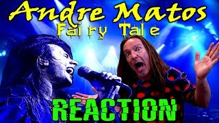 Vocal Coach Reacts To Andre Matos | Shaman Fairy Tale | Live | Ken Tamplin YouTube Videos