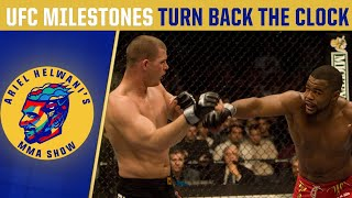 UFC milestone events | Turn Back the Clock | Ariel Helwani's MMA Show