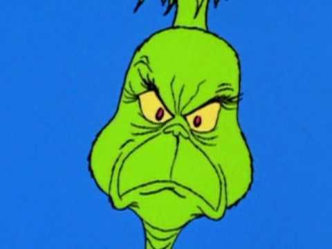 The Three Words That Best Describe That Damn Mr Grinch