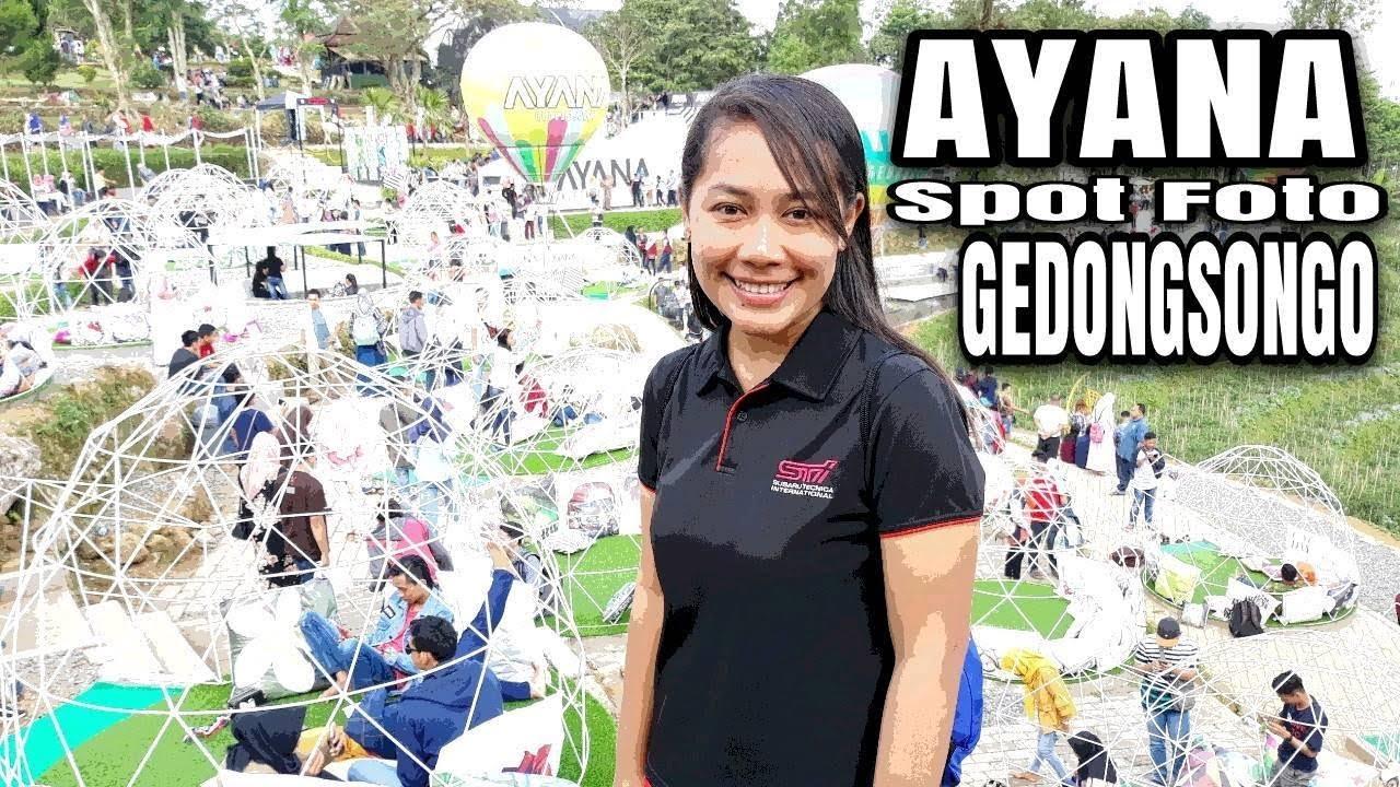Ayana Gedong Songo Spot Foto Wisata Hits Semarang Youtube