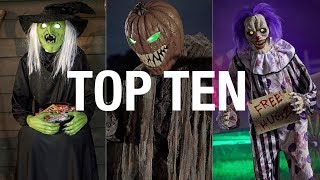 Top Ten 2018 Spirit Halloween Props
