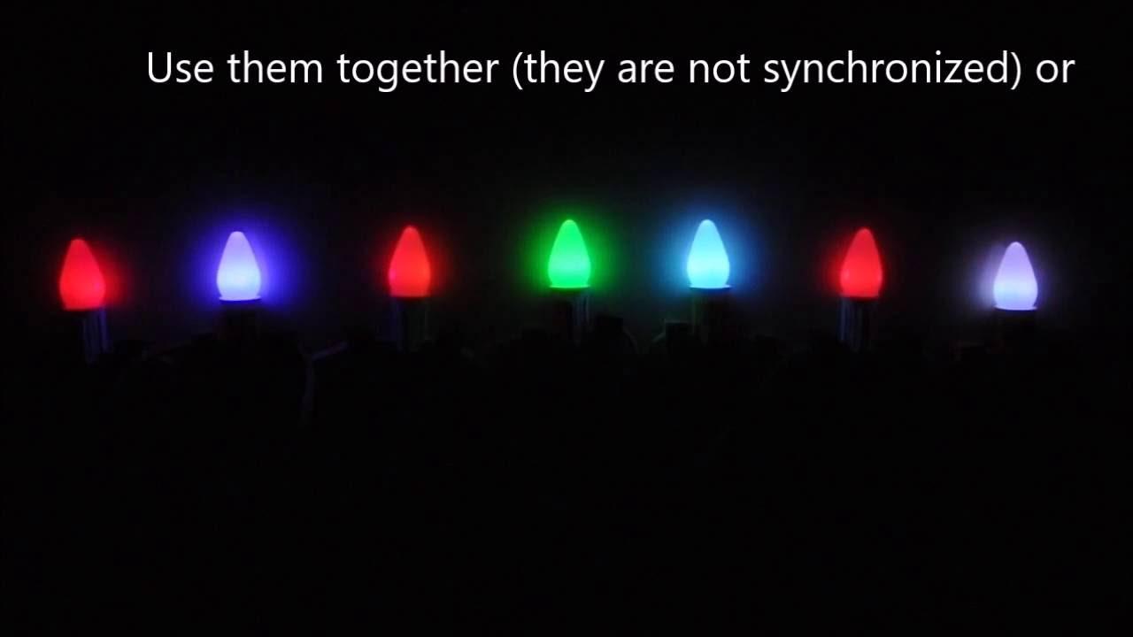 rgb color changing led c7 christmas bulb - Led C7 Christmas Lights