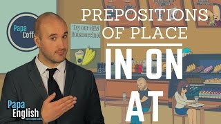 Best Prepositions lesson! On / In / At