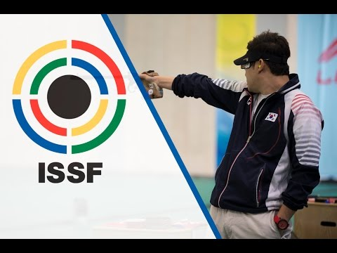 Finals 50m Pistol Men - ISSF World Championship in all events 2014, Granada (ESP)