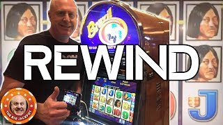 huge jackpots incoming rewind high limit slot play the big jackpot