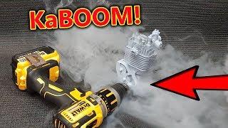 BOOM!!! 55,000rpm VS Model Engine - Catastrophic Failure - LOL